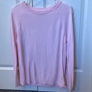 Weave Pink Sweater